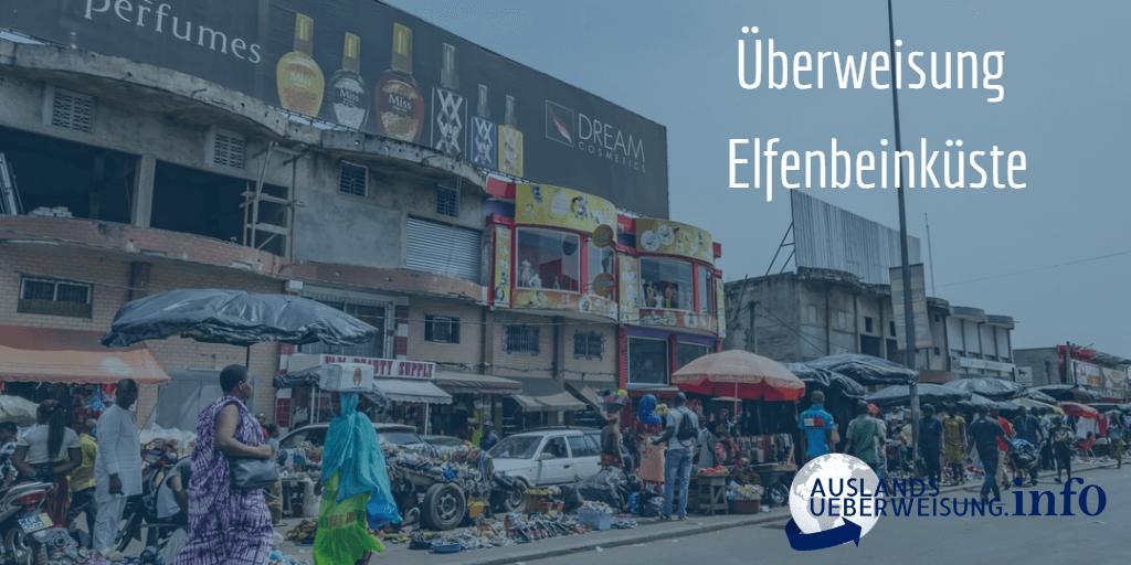 Überweisung Elfenbeinküste