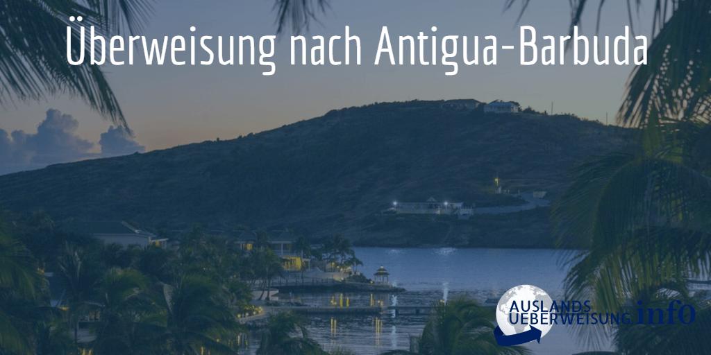 Überweisung nach Antigua-Barbuda