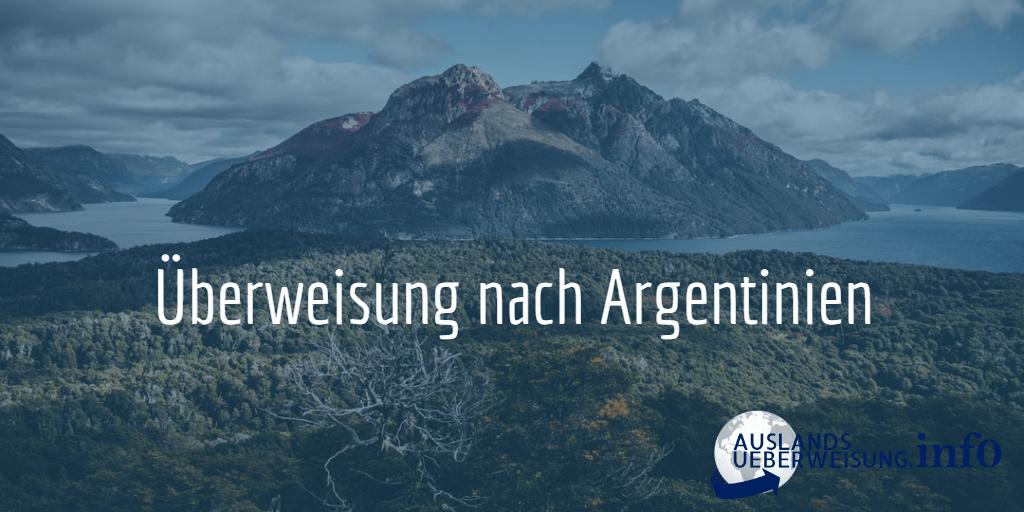 Überweisung nach Argentinien