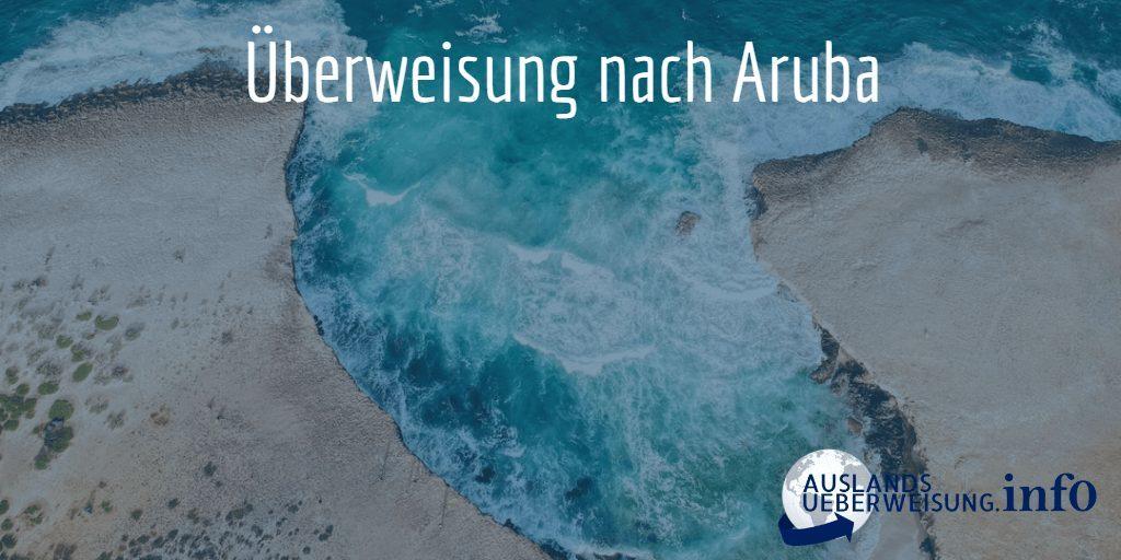 Überweisung nach Aruba