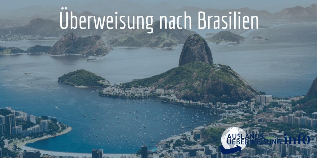 Überweisung nach Brasilien