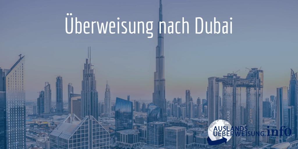 Überweisung nach Dubai