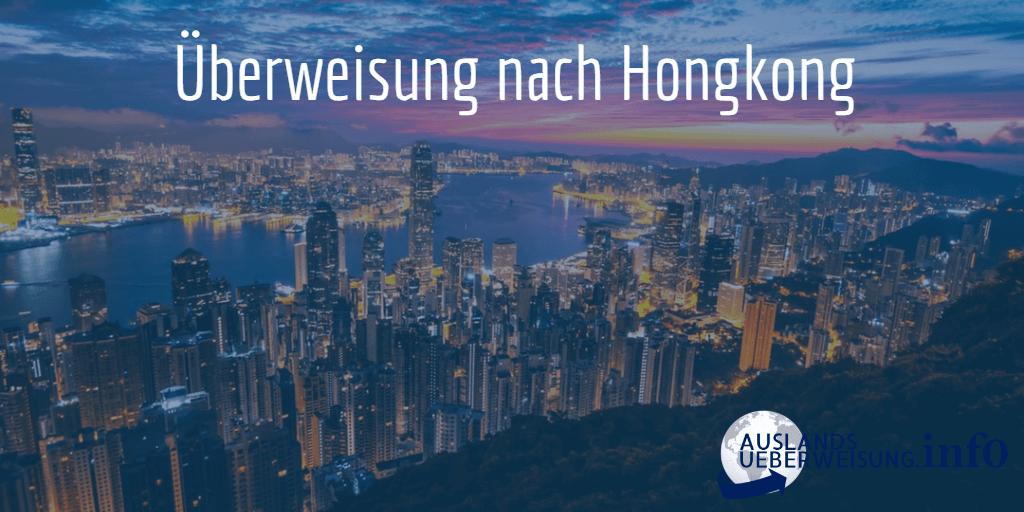Überweisung nach Hongkong