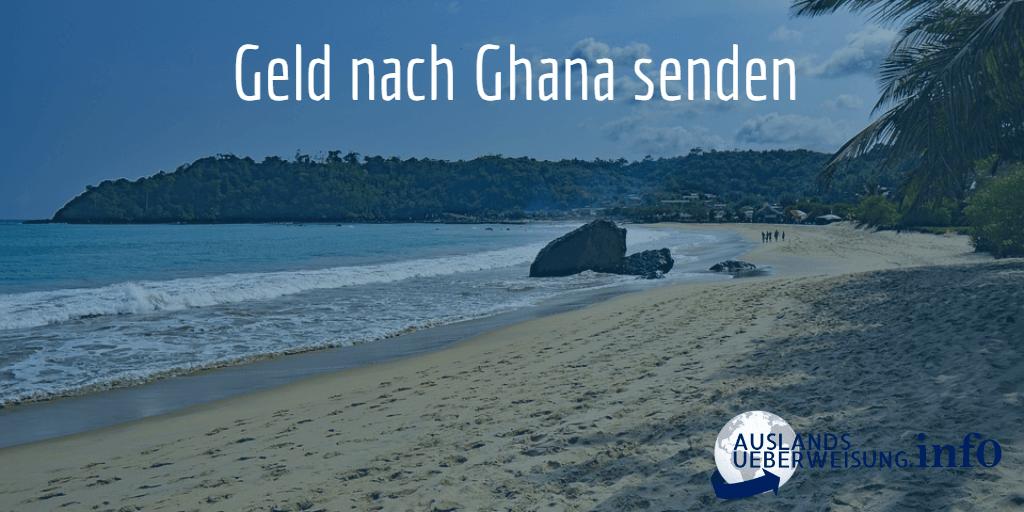 Geld nach Ghana senden