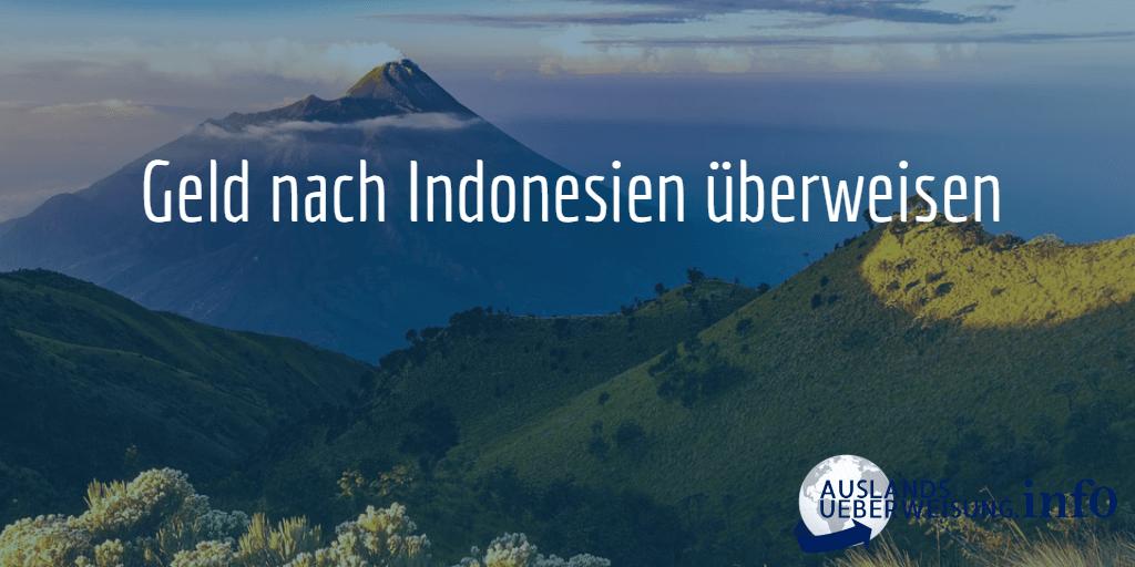Geld nach Indonesien überweisen